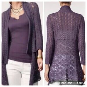 CAbi Timeless Knit Open Front Cardigan